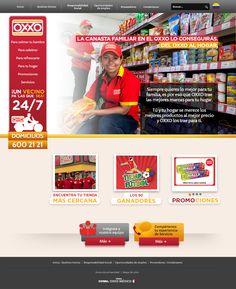 Oxxo Colombia - Website  www.oxxo.com.co