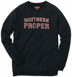 Southern Proper Original Sweatshirt // Navy Seaux Cute! Use the code LSULS until May 2015 for 15% off Southern Proper orders!