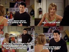 FunnyAnd offers the best funny pictures, memes, comics, quotes, jokes like - Friends Quotes Serie Friends, Friends Moments, Friends Tv Show, Friends Forever, Funny Moments, 3 Friends, Joey Friends Quotes, Friends Episodes, Friends Image
