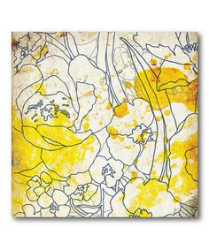 Take a look at this Splash of Color I Canvas Wall Art on zulily today!