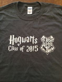 Hogwarts Class of PICK YOUR YEAR T-Shirt - Harry Potter Inspired Clothing Graduation Present for Boys Girls Men Women Kids