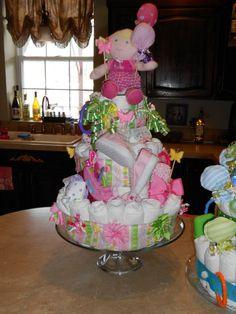 Jerseys Diaper cake by Jodi Rebedew