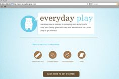 Everyday-play: tools for early education. Helping parents use resources in the house to learn.