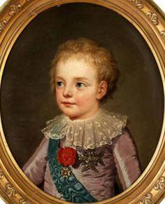 Louis Joseph, Dauphin de France by Adolph-Ulrich Wertmuller