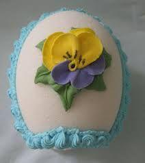 Sugar Egg with Flower