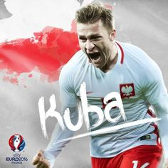 Kuba Błaszczykowski is the first Łączy nas piłka player to score at two EUROs! Kuba Błaszczykowski, Poland, UEFA EURO 2016, June 2016