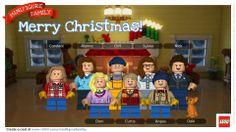 Alanna created a Newton Lego Family!!!  LOL Merry Christmas y'all!