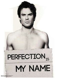 #Damon #Hot #perfection is his name :)