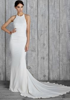 "Nicole Miller ""Morgan"" FJ10008 Mermaid Wedding Dress"