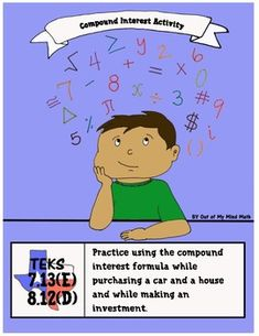 Practice activity using the compound interest formula.