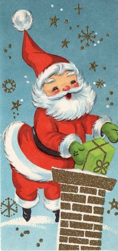 """vintage santa claus card"" in All Categories Vintage Christmas Images, Old Christmas, Retro Christmas, Vintage Holiday, Christmas Pictures, Father Christmas, Vintage Valentines, Vintage Greeting Cards, Christmas Greeting Cards"