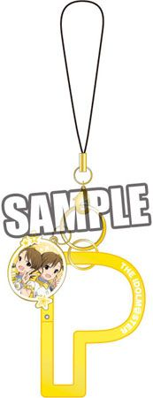AmiAmi [Character & Hobby Shop] | THE IDOLM@STER - Producer Carabiner Strap: Ami & Mami Futami