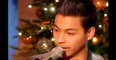 "Vince Mira is only 15 years old and when he sings, his voice is so similar to Johnny Cash it is stunning everyone who listens. His appearance one the Ellen show left the crowd with goose bumps with is deep baritone voice singing ""Ring of Fire."" Close your eyes as you listen, he really does sound just like him!  Wow!"