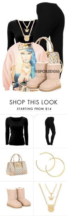 """I Said I'm The Queen!"" by spoiledg16 ❤ liked on Polyvore featuring NYDJ, Louis Vuitton, Nicki Minaj, UGG Australia and Betsey Johnson"