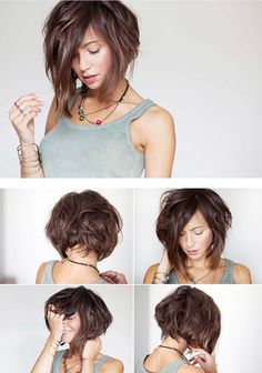 Most Coveted Bob Hairstyle Inspirations for 2018 - CrochetingNeedles . The Most Coveted Bob Hairstyle Inspirations for 2018 - CrochetingNeedles .The Most Coveted Bob Hairstyle Inspirations for 2018 - CrochetingNeedles . Curly Hair Styles, Curly Bob Hairstyles, Hairstyles With Bangs, Medium Hair Styles, Bob Haircuts, Bangs With Medium Hair, Short Hair Cuts, Great Hair, Hair Dos