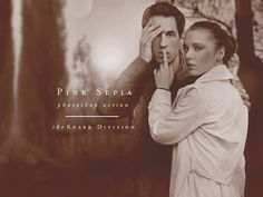 Pink Sepia Photoshop Action by The Roark Division on @creativework247