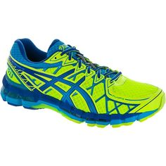 online store ed497 f4f4a ASICS GEL-Kayano 20 NYC Men Flash Yellow Island Blue Royal  holabirdsports.com