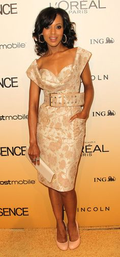 Gorg Kerry Washington Look! <--this is soo my style. Classic!