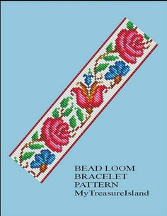 For sale is the Vintage Floral Border 9 Bracelet Pattern in PDF format. For this design I used Miyuki Delica seed beads in size 11. By using the full Delica beads samples set I selected the colors of beads for this design to reflect the main shown picture of the listing. Slight