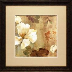 North American Art Golden Space II by Asia Jensen Framed Painting Print