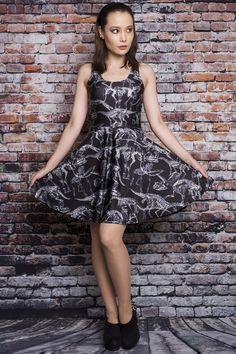 Archaeology Pocket Skater Dress - $85.00 AUD