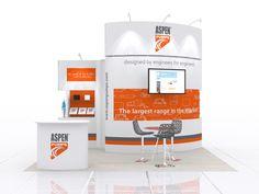 https://flic.kr/p/AZfxKM | Exhibition stand design for Aspen Pumps | Exhibition stand design