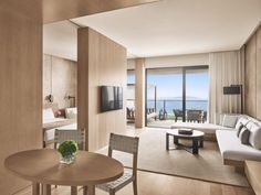 hotel suite Sanya, the quot;Vacation Island of Choicequot; in China According to Ian Schrager, Has a New Edition Hotel Sanya, Japanese Apartment, Hotel Room Design, Design Living Room, Bedroom Designs, Hotel Apartment, Apartment Design, Edition Hotel, Estilo Tropical