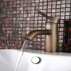 Great Value Faucets 90 Degree Inspired Antique Brass Bathroom Single Handle Basin Faucets Mixer Taps. Whether you′re ready to replace the leaking faucet? Multi-layer finishing process, attractive looks. It made of high quality, sturdy and durable in use. This elegant faucet can be operated smoothly and precisely. Good choice for you, come to have a try. Exchange or clean the pipe4. This water faucet is well designed for saving water, unique design, convenient to install.