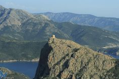 Photo aérienne de Capu Rossu - Haute-Corse (2B)