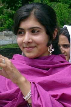 Malala Yousufzai - Malala, teen champion of girls' rights, nominated for Nobel Peace Prize.