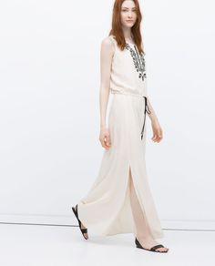 LONG STRIPED DRESS-Woman-NEW THIS WEEK | ZARA Albania