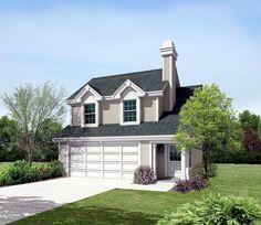 149-1838 apartment garage front rendering | Garages | Pinterest ...