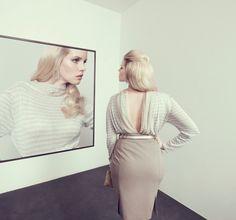 Colour cream portrait