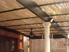 Cane Reed Ceilings