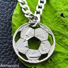 collar de una moneda de 25ctvs