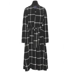 Lanvin - Window check wool-blend coat - Move into fall in true style with Lanvin's wool-blend coat. Luxuriously oversized, this coat is decorated with a window check for a twist on traditional check prints. The high neck and generous length are complemented by a waistbelt adding definition. seen @ www.mytheresa.com
