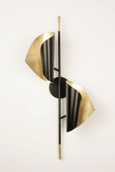 CIGALE double sconce by Atelier de Troupe - $1,450.00