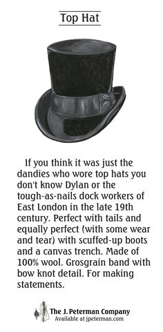6bc355df4dc If you think it was just the dandies who wore top hats you don t