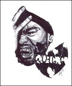 Method Man - Wu Tang Clan by raj1v