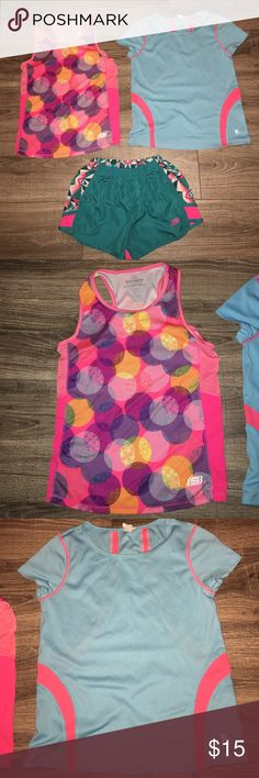 Girl's Active Wear Bundle Girl's Active Wear Bundle- Size 10/12: EUC! The brands include Skechers and Danskin. They come from a smoke free home. Skechers Other
