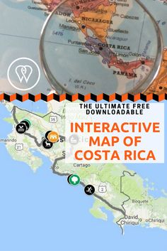 Save this pin for our first hand off the beaten path travel tips in Costa Rica. Avoid the crowds while hiking one of the most stunning rainforest, find out where to spot the sloth, explore hidden beaches, waterfalls and swimming holes! San Jose Costa Rica, Managua, Hidden Beach, Swimming Holes, Interactive Map, Sloth, Waterfalls, Beaches, Travel Tips