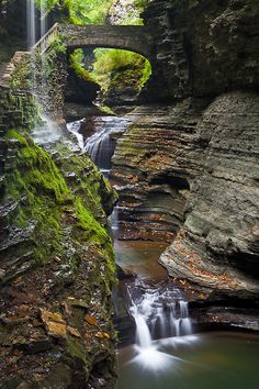 Glen Creek, Watkins Glen State Park, New York