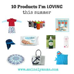 10 products I'm LOVING right now for summer fun and outings with my boys! #sunsmarties @mainelymamablog