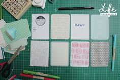 Project Life Tuesday: Making Your Own Journal or Filler Cards |