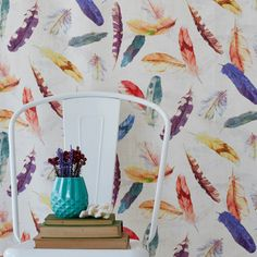 Summer might be coming to a close, but that doesn't mean you can't carry on the fun! The new Hertex range of fabrics will definitely add texture, pattern and colour to any home - summer or winter. Hertex Fabrics, Monkey Room, Girls Bedroom, Bedrooms, Jungle Print, Fabric Suppliers, Cottage Interiors, Paint Splatter, Exotic