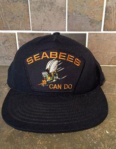 online store c5342 d7a0f Vintage 80 s Seabees