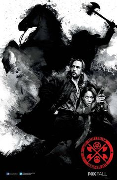 Take a look at these special FOX show posters for Comic-Con 2013 - Sleepy Hollow