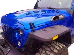 GENSSI Custom Avenger ABS Hood for Jeep Wrangler JK 2007-2015