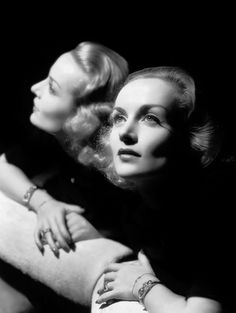 Carole Lombard by George Hurrell.
