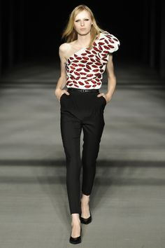 As Hedi Slimane Leaves Saint Laurent After Four Beautiful Years, We Look Back Fondly - Saint Laurent RTW Spring 2014